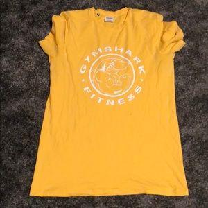 Yellow legacy gymshark t shirt